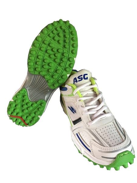 Picture of ASG GRAND CRICKET SHOES (White, Green)